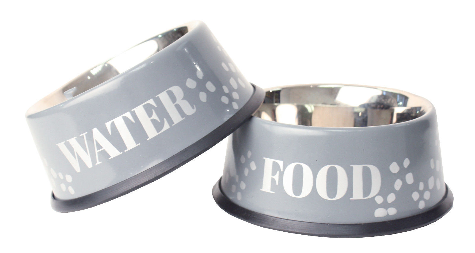 Dog's food and water bowls