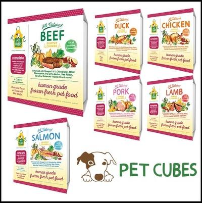 Pet Cubes Dog Food