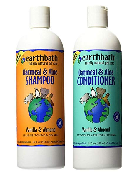 Earth bath Oatmeal & Aloe Shampoo