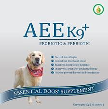 AEE K9 prebiotic and probiotic