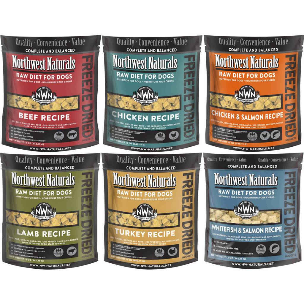 Northwest naturals raw diet for dogs