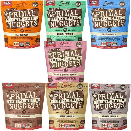 PRIMAL FREEZE DRIED NUGGETS FOR DOG